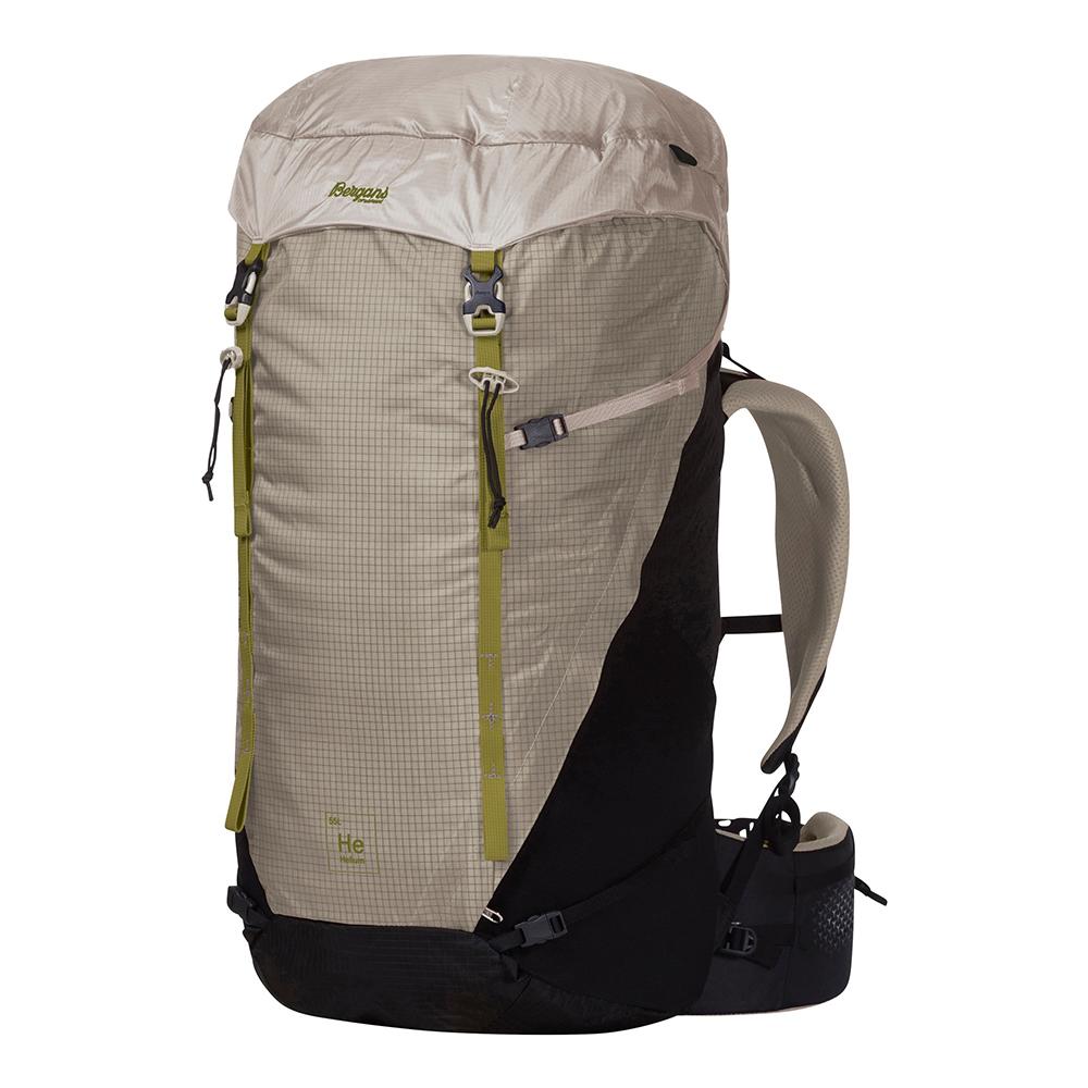 Bergans Helium V5 55 Backpack Chalk Sand / Dark Green Oasis
