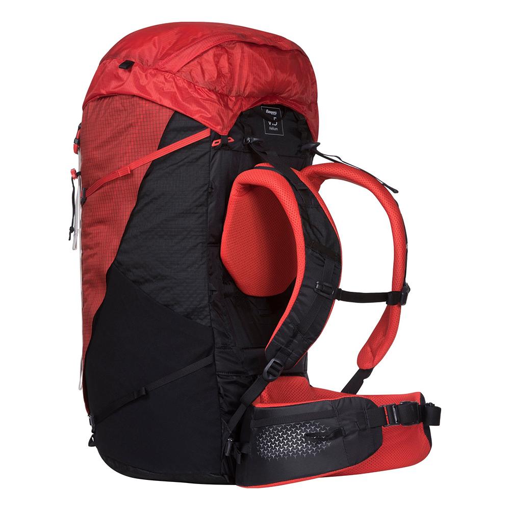 Side Bergans Helium V5 W 55 Red Sand / Black 2021