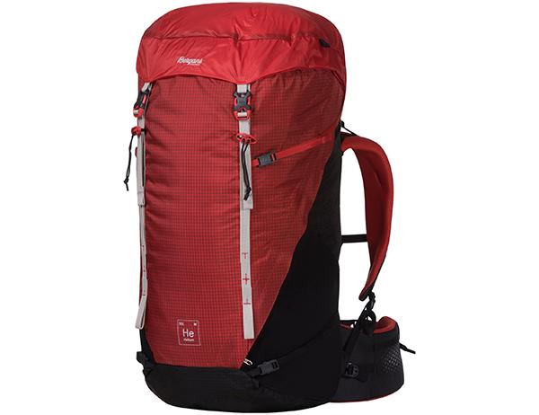 Bergans Helium V5 W 55 Backpack Red Sand / Black 2021