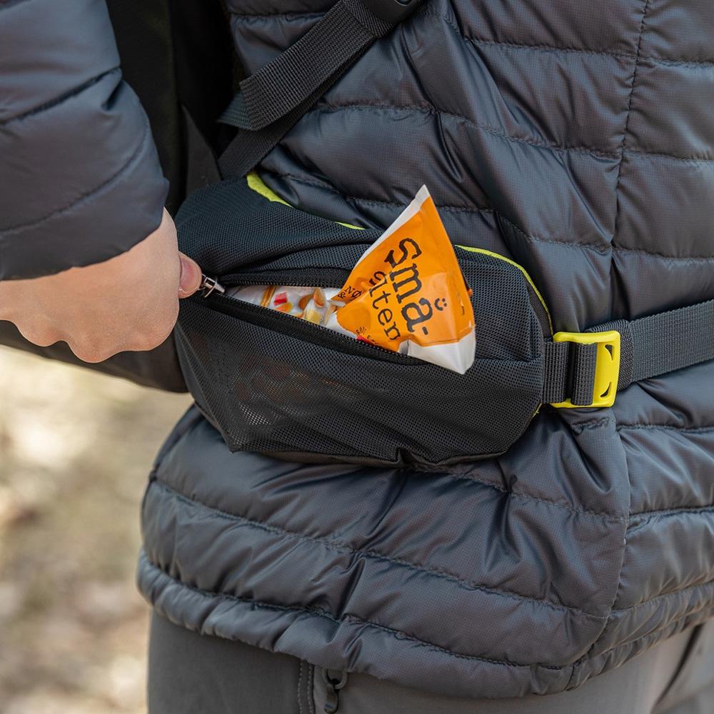 Hip zip pocket Bergans Rondane V6 W 30 Backpack Brick 2021