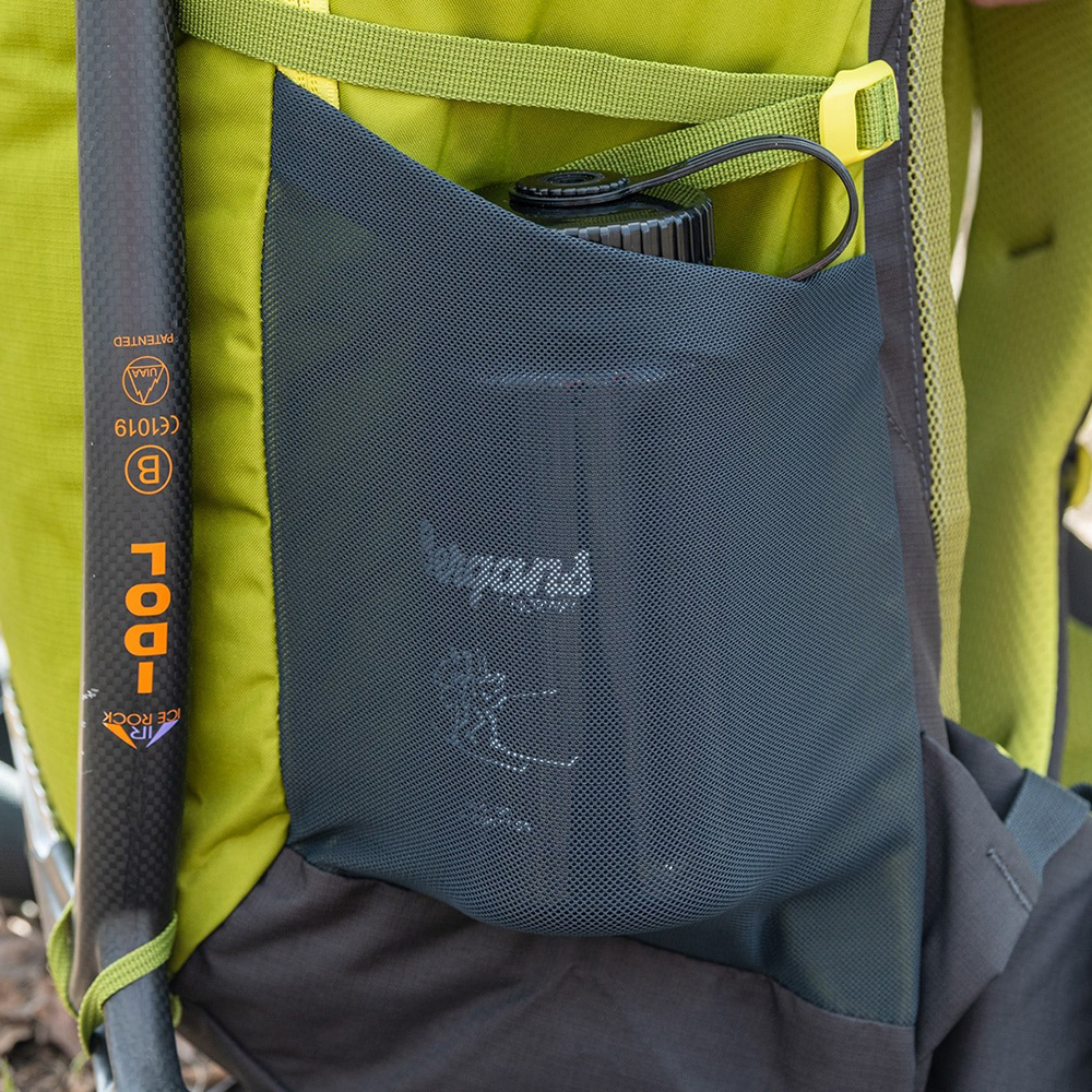 Elastic pockets Bergans Rondane V6 30 Dark Green Oasis 2021