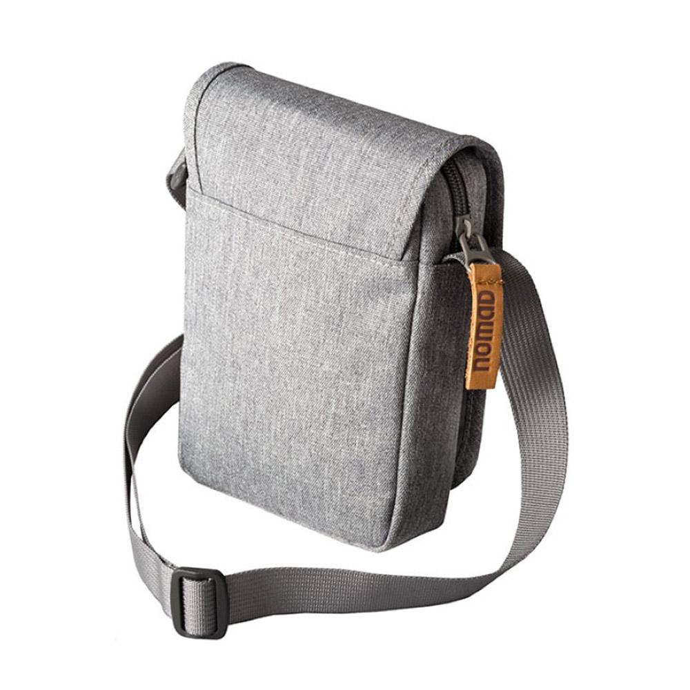 Гръб на туристическа чантичка за рамо Nomad Daily Documents Bag Grey