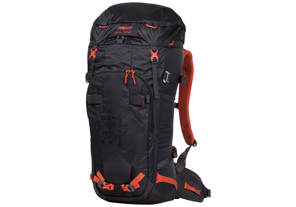 Туристическа алпийска раница Bergans Helium PRO 40L Koi Orange
