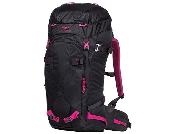 Bergans Helium PRO W40L Hiking Backpack Charcoal Pink