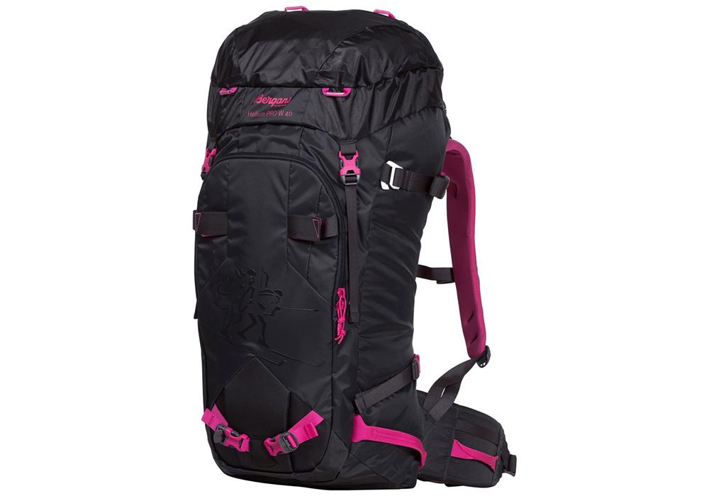 Туристическа раница Bergans Helium PRO W40L Charcoal Pink