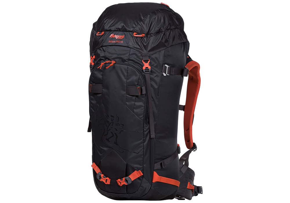 Туристическа алпийска раница Bergans Helium PRO 55L Koi Orange