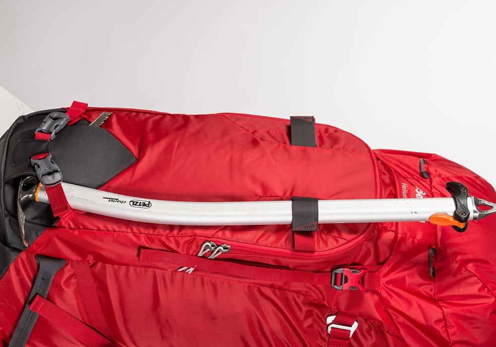 Сечиво на туристическа алпийска раница Bergans Helium PRO 40L