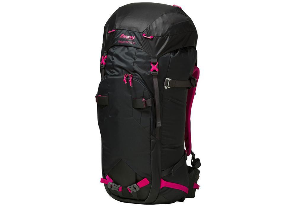 Туристическа раница Bergans Helium PRO 55L Charcoal Pink
