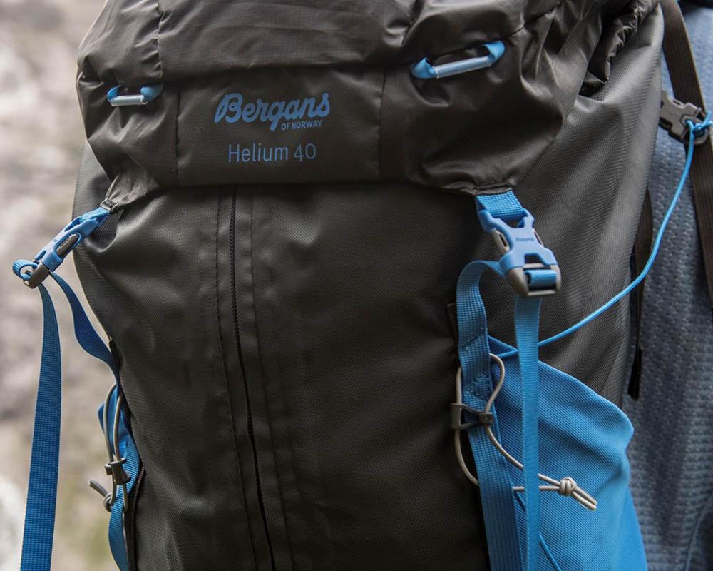 Капак ултралека туристическа раница Bergans Helium W55L