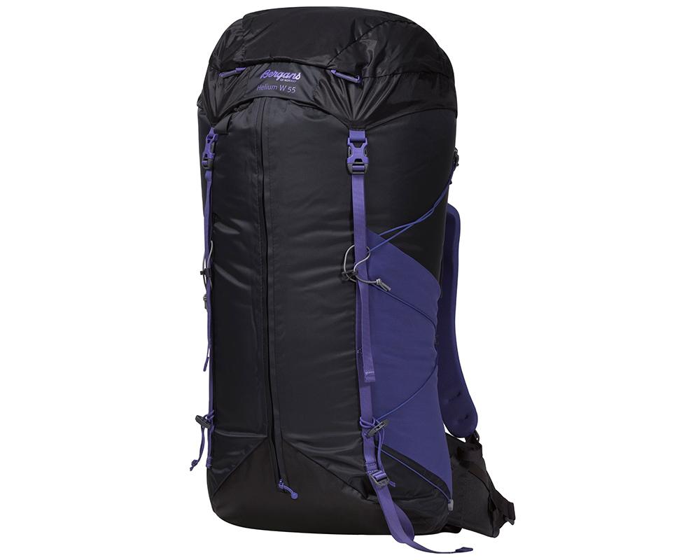 Ултралека туристическа раница Bergans Helium W55L Funky Purple модел 2017