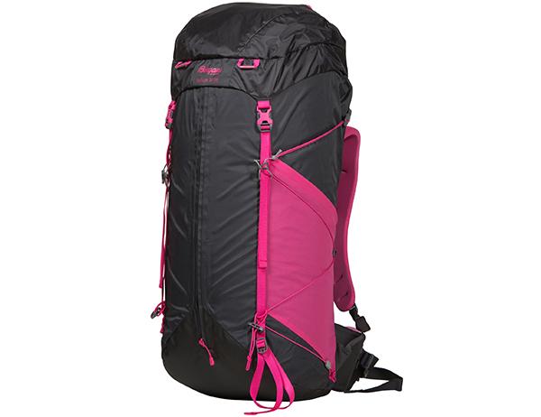 Туристическа раница Bergans Helium W 55L Solid Charcoal Hot Pink