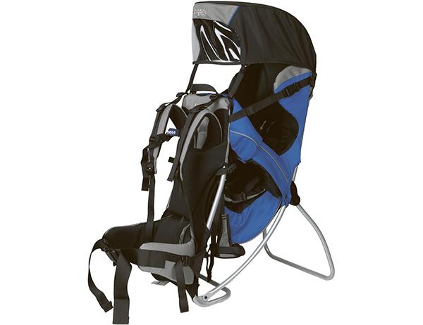 Туристическа раница за носене на дете Bergans Kids Trekking Blue