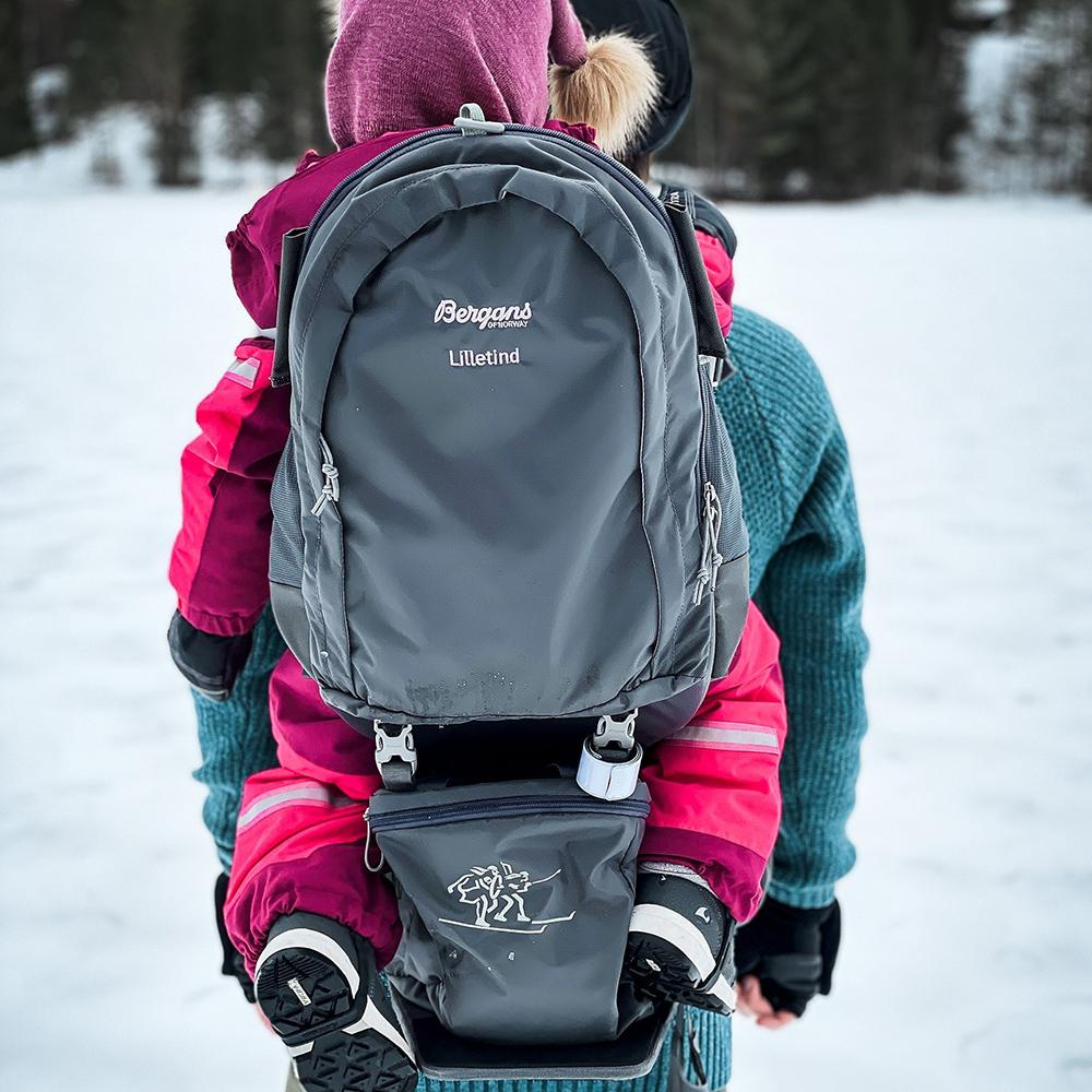 Гръб на раница за дете Bergans Lilletind Child Carrier