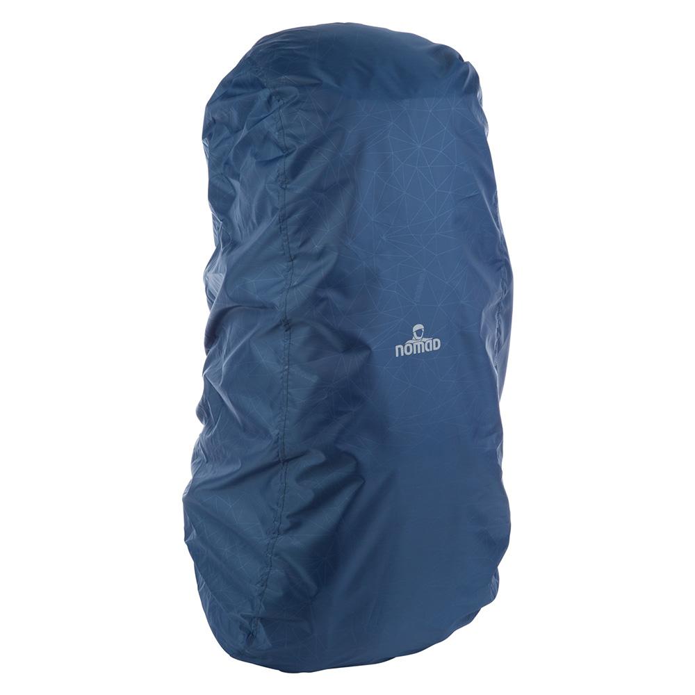 Дъждобран - покривало на туристическа раница Nomad Topaz Backpack 40L Titanium