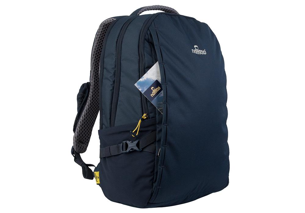 Страничен джоб на раница за лаптоп Nomad Velocity Premium 25L Dark Navy 2021