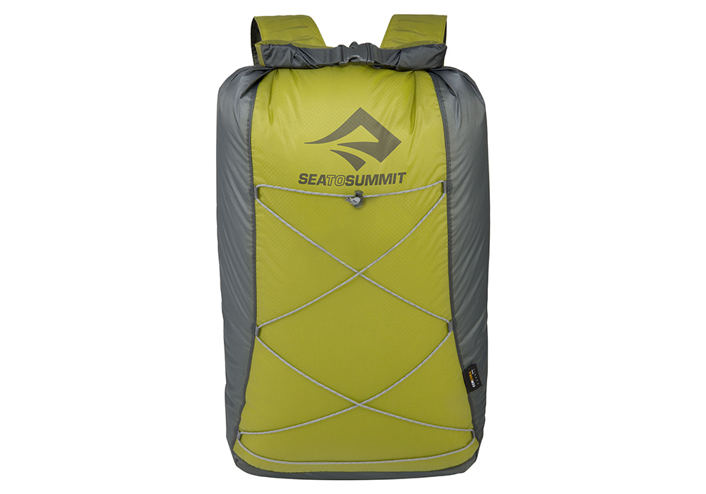 Лице на lime джобна раница Sea to Summit Ultra-Sil Dry Daypack