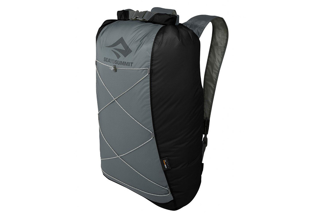 Черна джобна раница Sea to Summit Ultra-Sil Dry Daypack