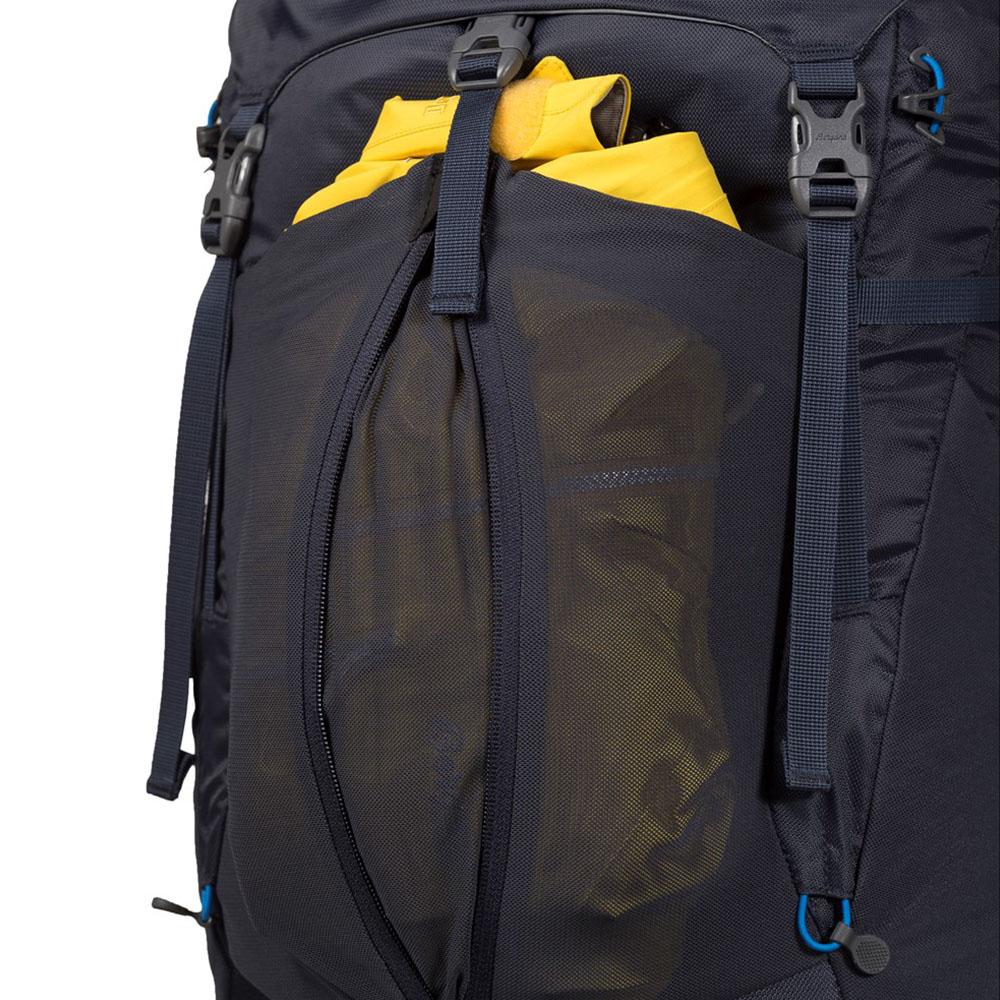Еластичен джоб с цип на туристическа раница Bergans Skarstind