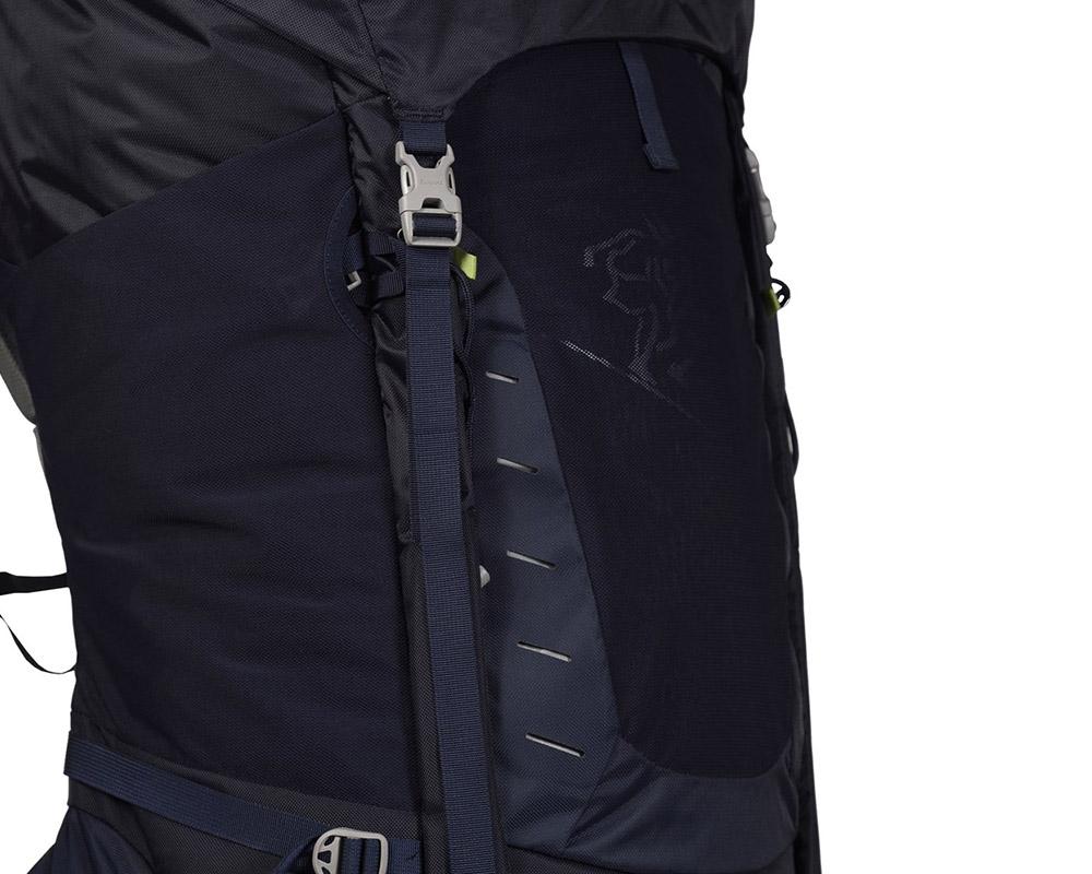 Туристическа раница Bergans Trollhetta компресионен ремък зад мрежестия джоб