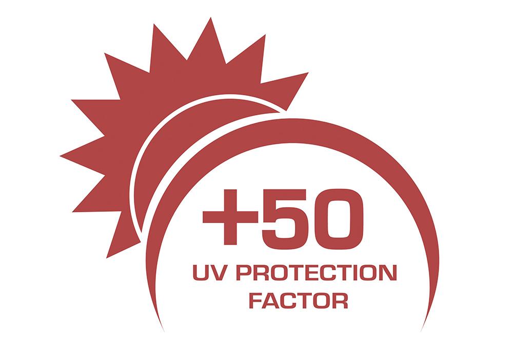 Защита от слънцето UV50+