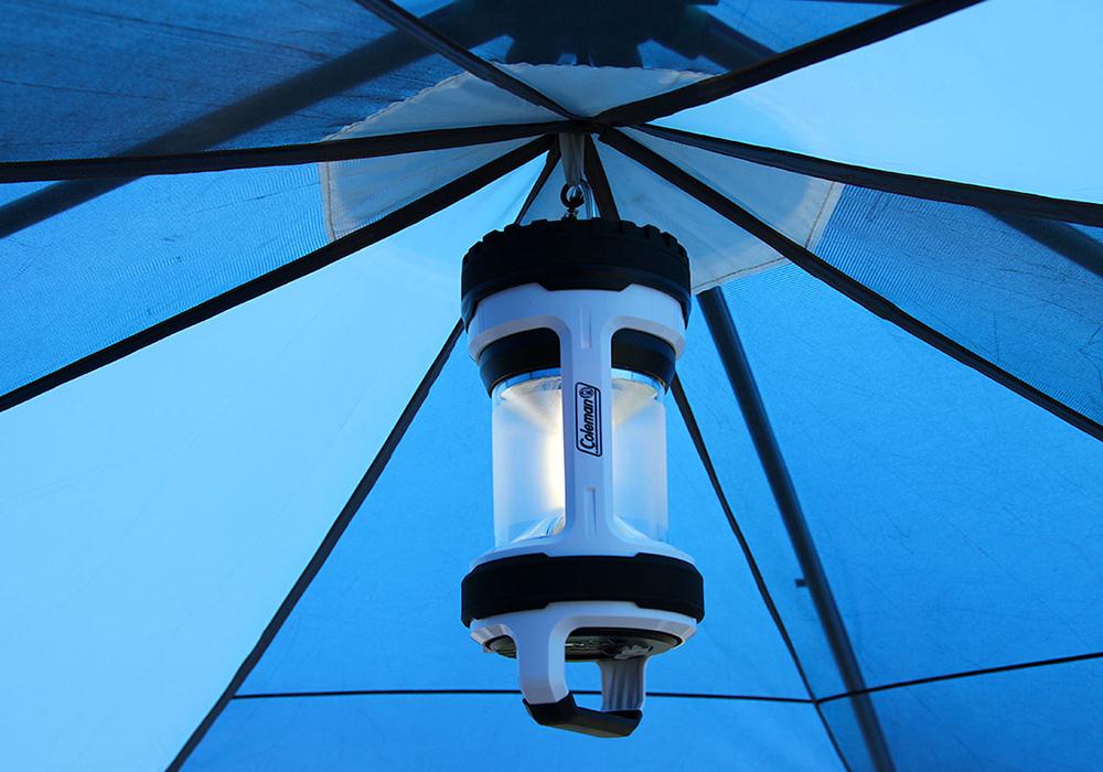 Закачане на фенер палатка-шатра Coleman Cortes Octagon 8 Blue 2021