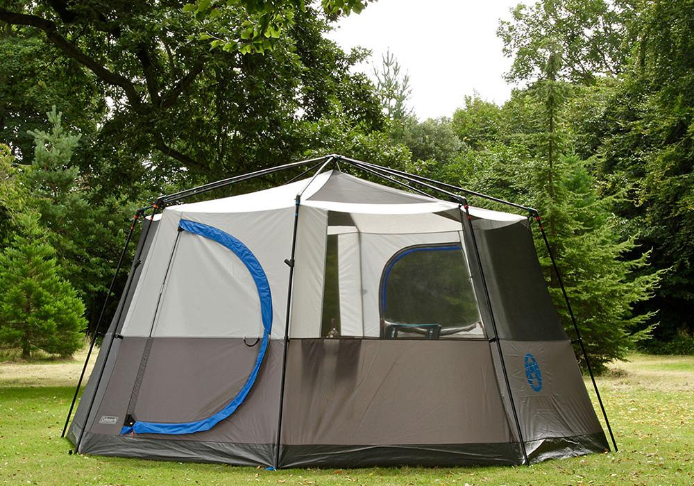 Само по мрежи палатка-шатра Coleman Cortes Octagon 8 Blue 2021