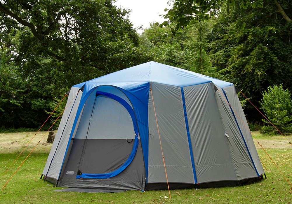 Затворена палатка-шатра Coleman Cortes Octagon 8 Blue 2021