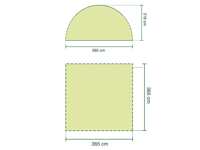 графична илюстрация на шатра