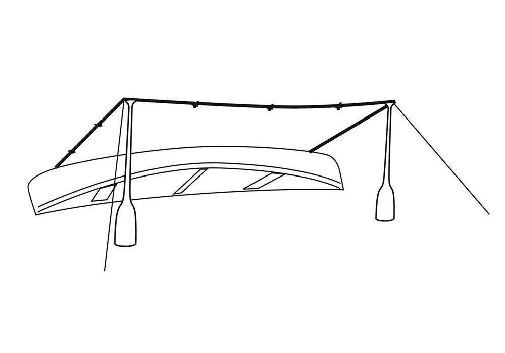 С кану към тента - навес Robens Tarp 4 x 4 2021