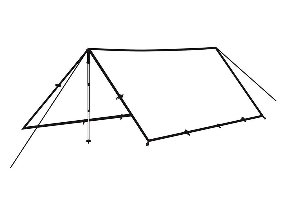 Тента - навес Robens Tarp 4 x 4 2021