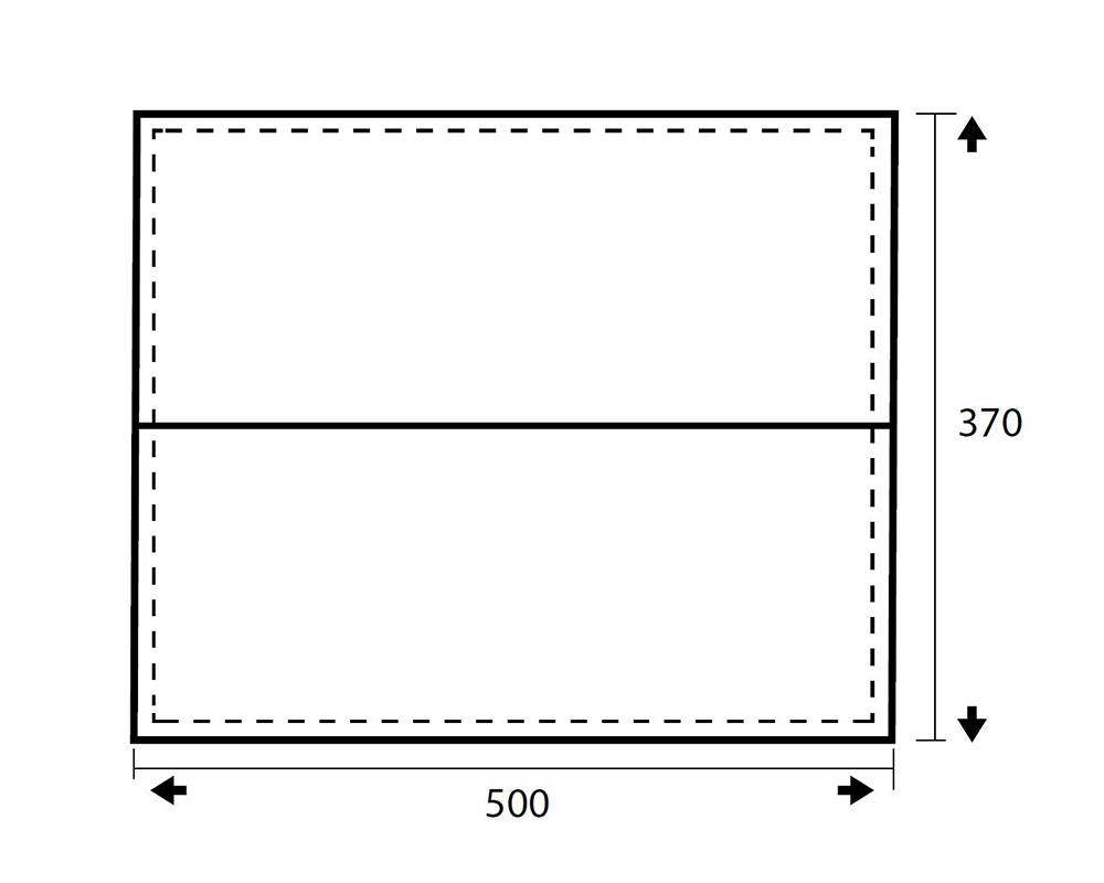 Размери графика туристическа тента - навес Trimm Trace XL