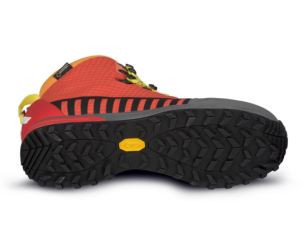Подметка Vibram на дамски туристически обувки ALFA Kvist Advance GTX WMN Red