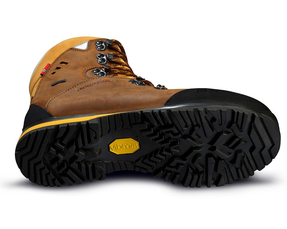 Подметка Vibram мъжки кожени туристически обувки Gore Tex ALFA Berg Advance GTX