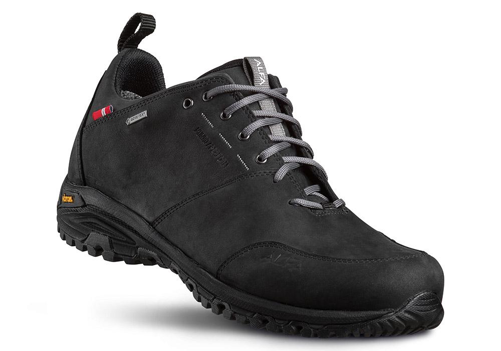 Мъжки туристически обувки ALFA Munro Perform GTX Black