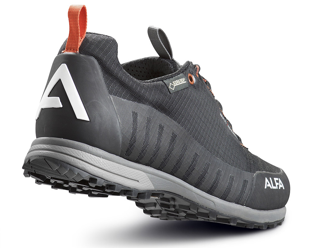Пета на ниски туристически обувки с мембрана ALFA Knaus Advance GTX
