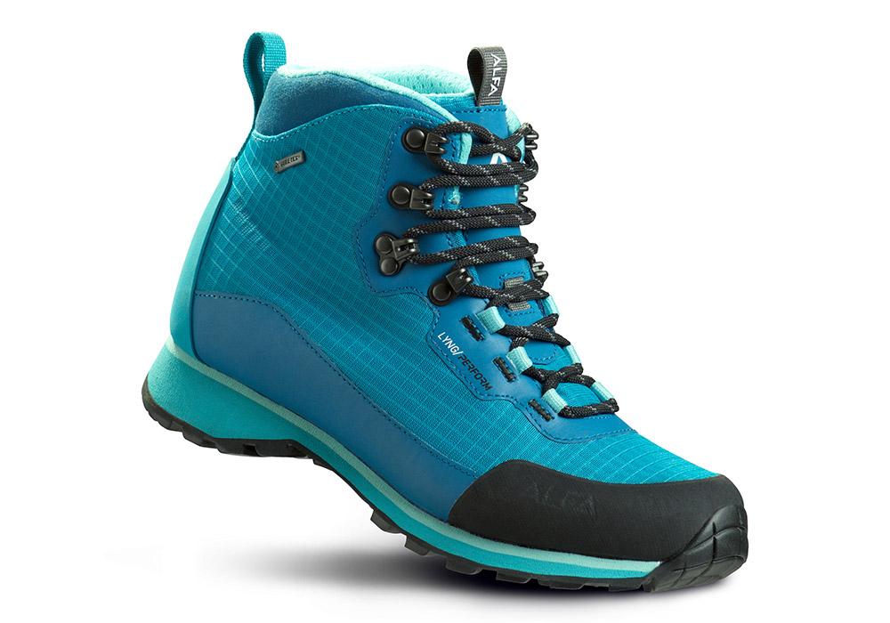 Дамски туристически обувки ALFA Lyng Perform GTX Turquise