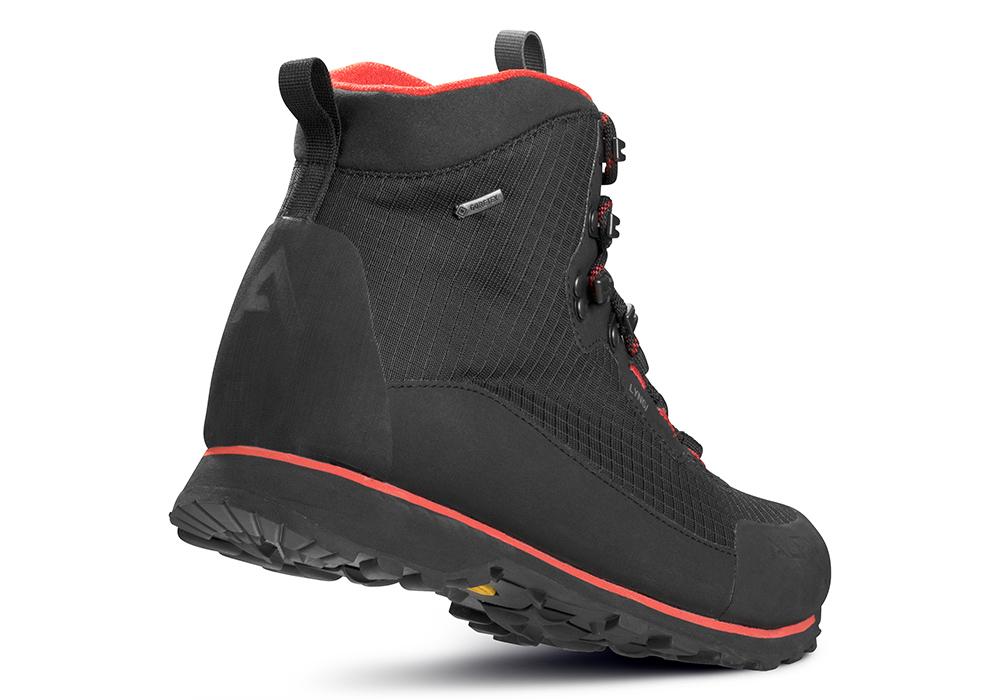 Пета на мъжки туристически обувки ALFA Lyng Perform GTX Black Red