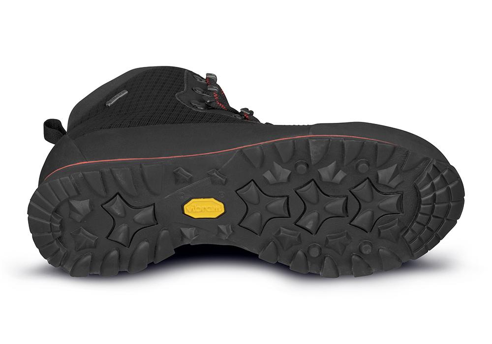Подметка на мъжки туристически обувки ALFA Lyng Perform GTX Black Red