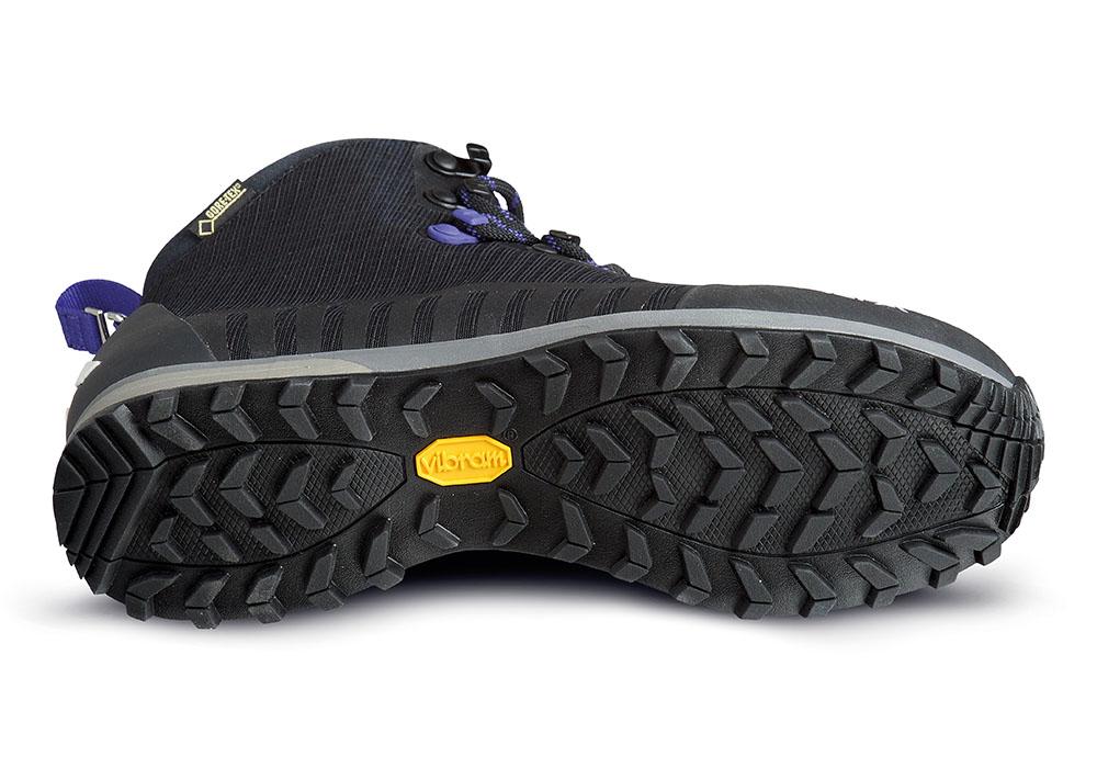 Vibram подметки на дамски туристически обувки ALFA Kvist Advance GTX W Black Purple