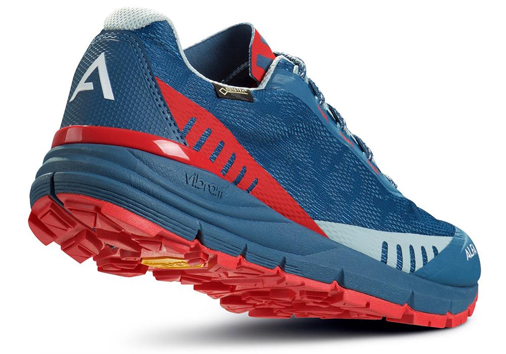 Пета на дамски туристически обувки ALFA Ramble Advance GTX W Blue Red