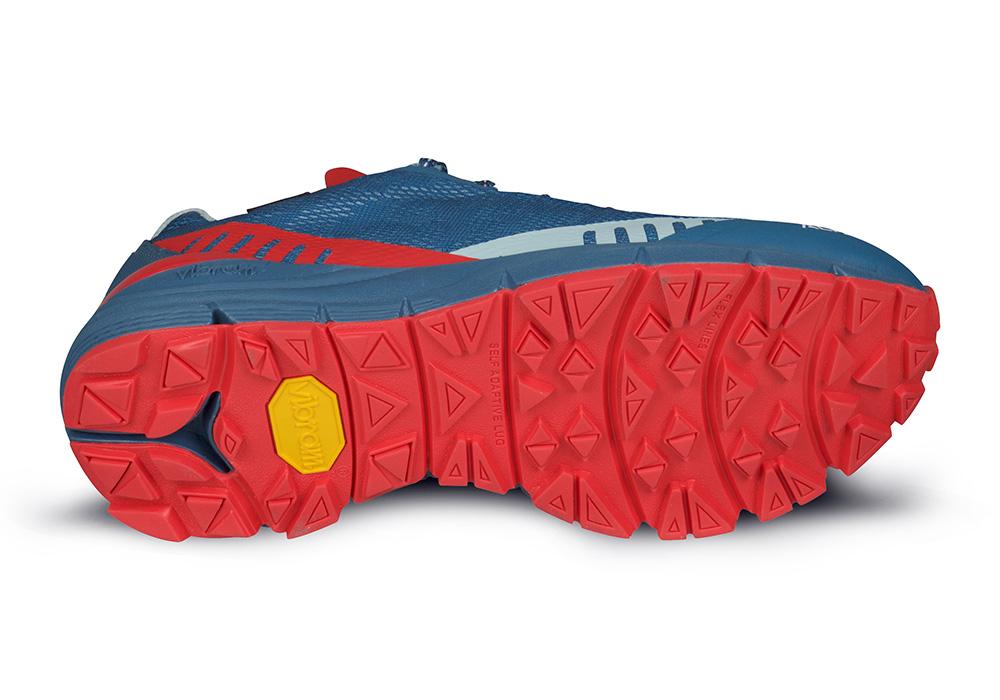 Подметка Vibram на дамски туристически обувки ALFA Ramble Advance GTX W Blue Red