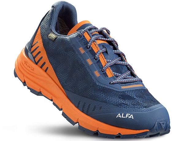 Мъжки туристически обувки ALFA Ramble Advance GTX Navy Orange