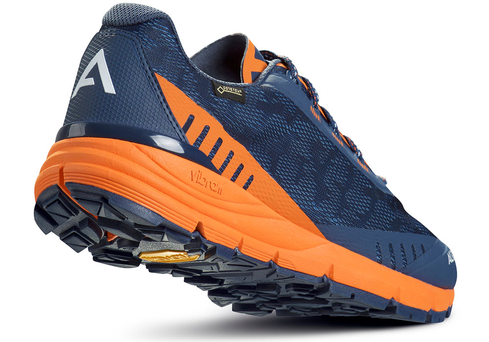 Пета на мъжки туристически обувки ALFA Ramble Advance GTX Navy Orange