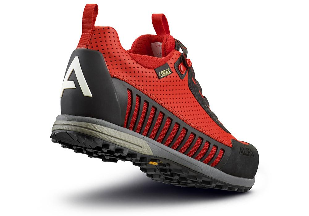 Пета на Туристически обувки ALFA с мембрана GORE-TEX Surround
