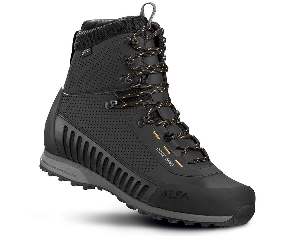 Мъжки туристически Обувки ALFA Orre APS GTX Black Orange