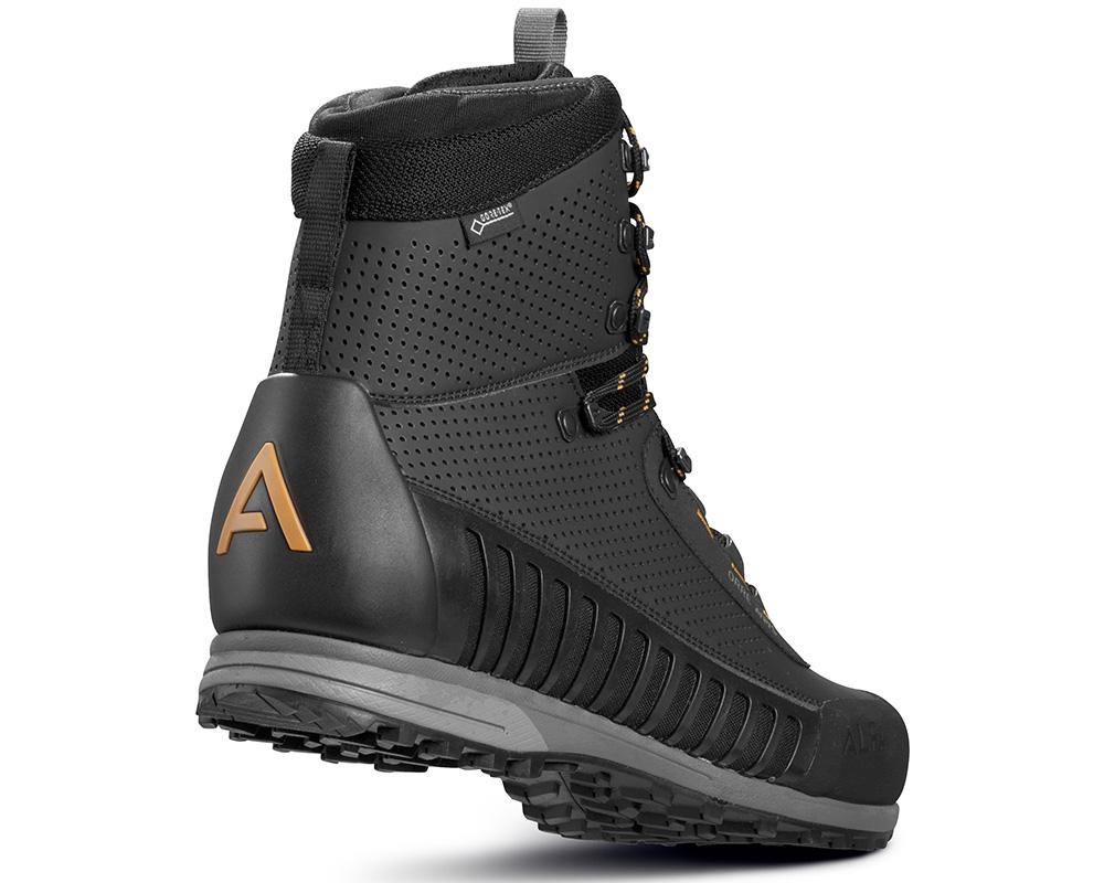 Пета на мъжки туристически Обувки ALFA Orre APS GTX Black Orange