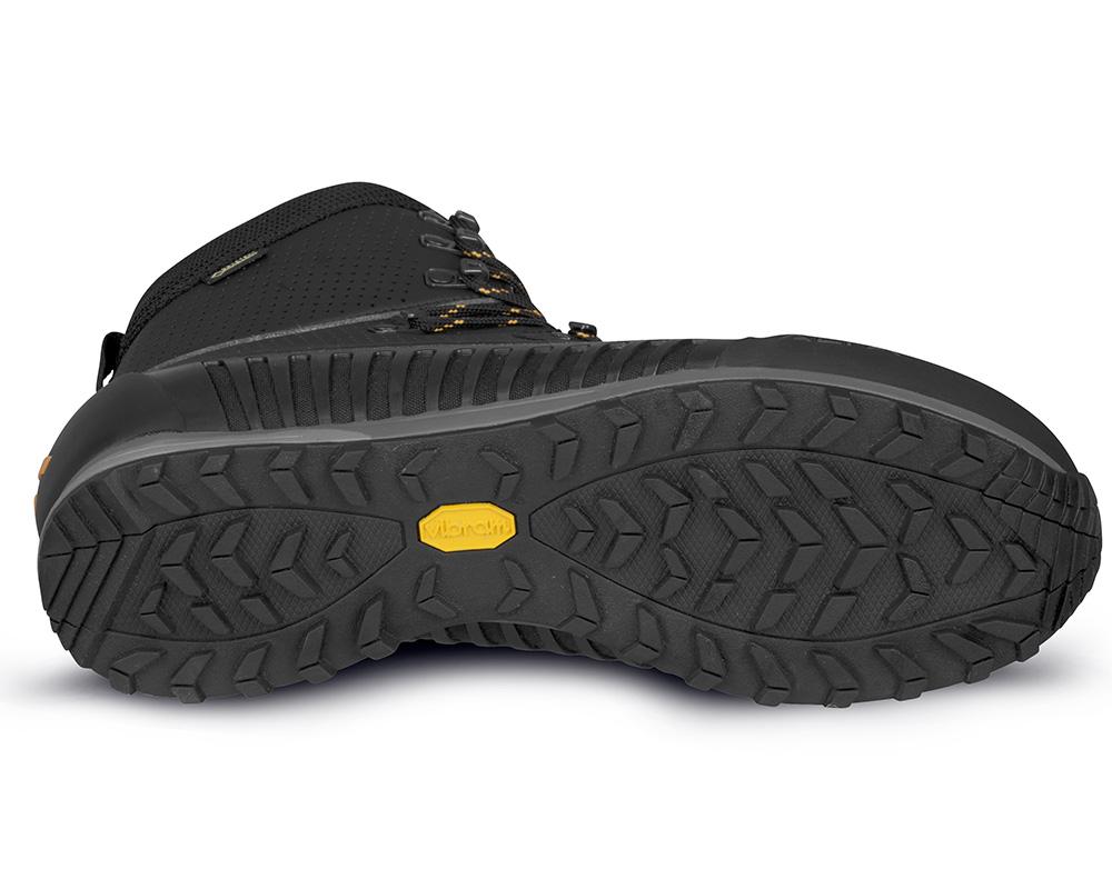 Подметка Vibram на мъжки туристически Обувки ALFA Orre APS GTX Black Orange