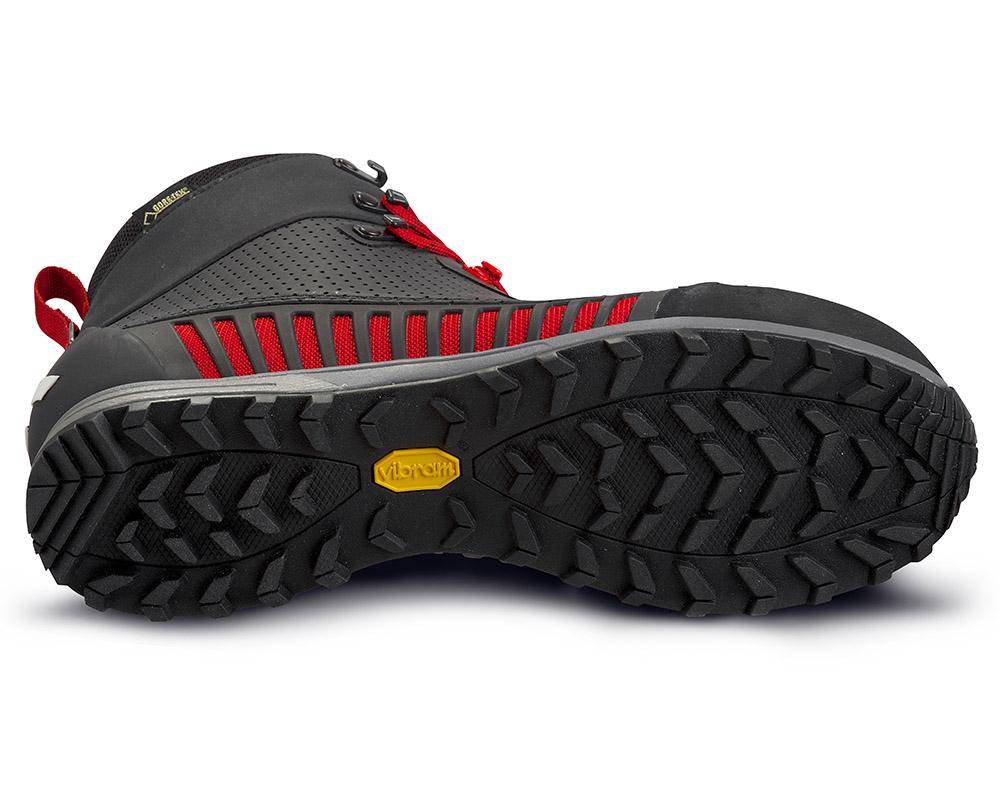Подметка Vibram туристически обувки с мембрана Gore Tex ALFA Lyng APS GTX Black Red