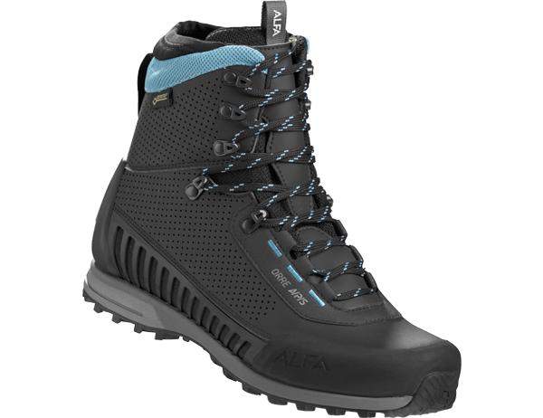 Дамски туристически обувки ALFA Orre APS GTX WMN Black Torquase
