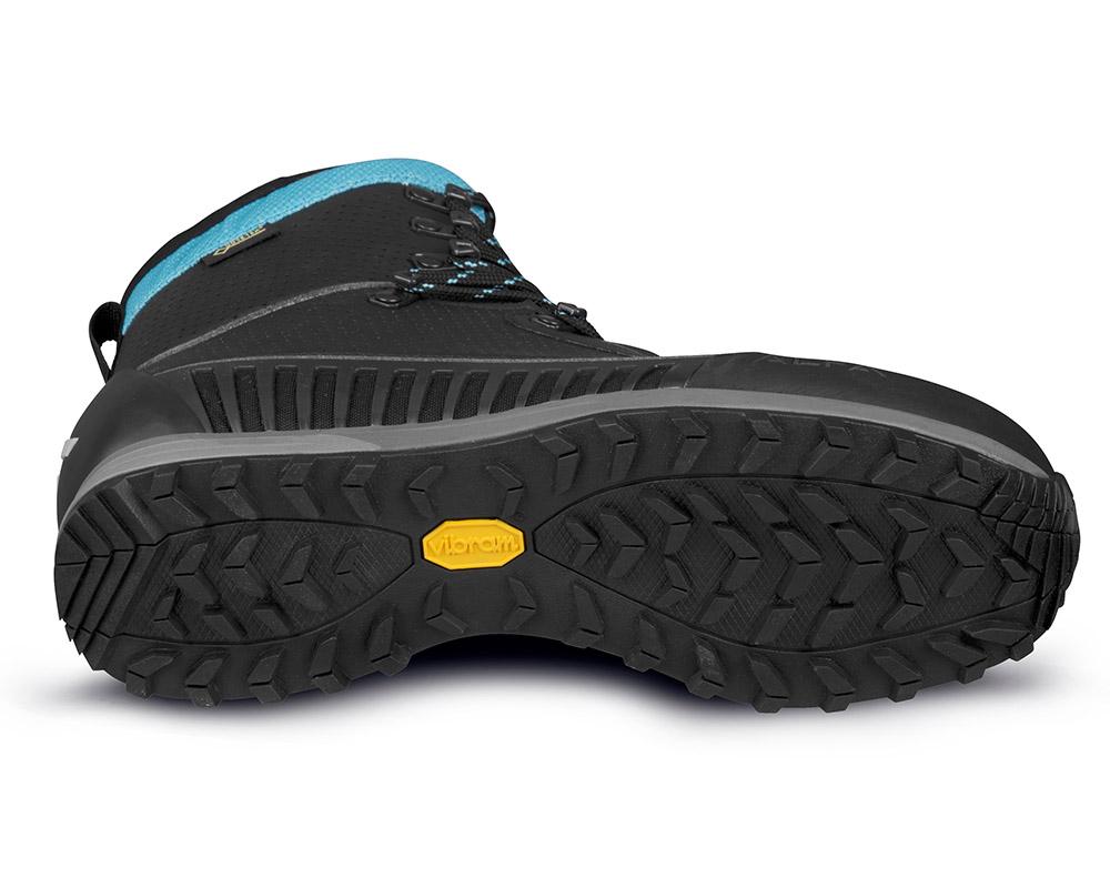 Подметка на дамски туристически обувки Gore Tex ALFA Orre APS GTX WMN Black Torquase